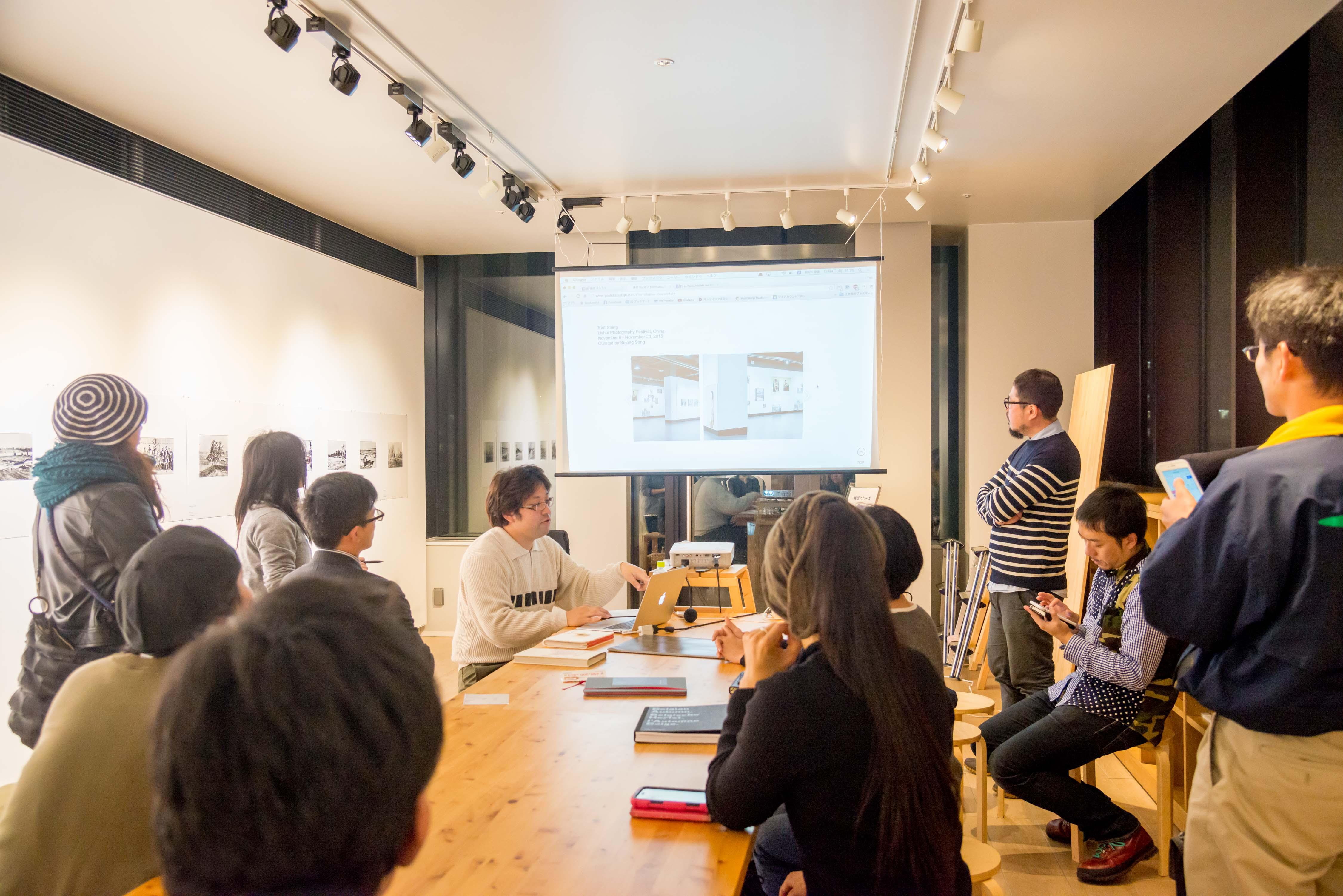 fujii yoshikatsu artist talk